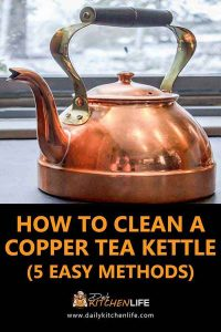 How to Clean a Copper Tea Kettle 1