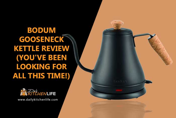 bodum gooseneck kettle review