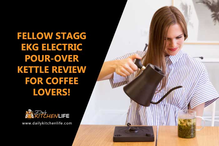 fellow stagg ekg electric pour over kettle review